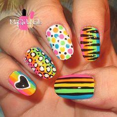 Instagram photo by mygirlynails #nail #nails #nailart