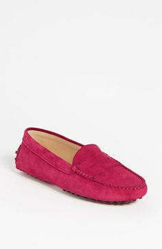 Driving loafers for travel.