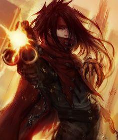 50k Kiriban - Vincent Valentine - Final Fantasy VII ~ by Arieaesu.deviantart.com on @deviantART