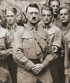 """""""Hitler pushed thousands of white Arian German women into pregnancy. He demanded that teenage girls attend Nuremberg rally camps, where they had sexual intercourse with boys and became pregnant. In 1936, nine hundred girls came home from the Nuremberg rally pregnant. Unwed mothers were known as the Führer's brides."""""""