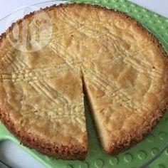Een echte Joodse boterkoek, heerlijk! ~Marjolein