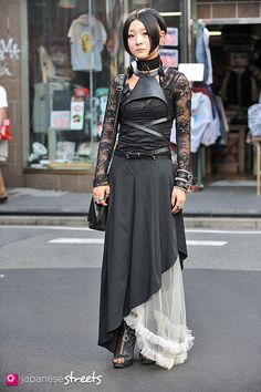 Gothic street fashion in Harajuku, Tokyo