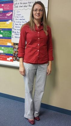 Teacher Clothing Blog Red & Navy