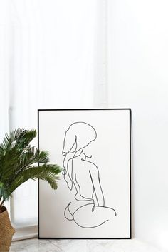 Line body Vector SVG Female Minimalist digital Abstract Line Art, Bathroom Art, Minimalist Art, Female Art, Female Drawing, Printable Wall Art, Diy Art, Wall Art Prints, Art Drawings