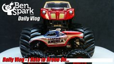 I Hate to Drone On - Daily Vlog  I found a Captain America Monster Jam Hot Wheels truck over at Walmart this morning. That helps in my photos of the Blogger Civil War with my buddy, Andrew.  #TeamCap #TeamStark