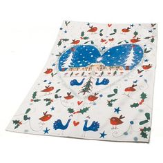 Lucy Loveaheart Robin Tea Towel