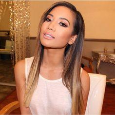 Absolute babe in this caramel balayage! @artlorissalon #hblhaircare #babestatus #balayage #long hair #extensions #style #instahair