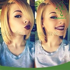 Cheap wig cheap, Buy Quality wig game directly from China wig store Suppliers: short full lace human hair bob wigs for black women virgin Vietnamese human hair blonde bob wigs 27# glueless ful