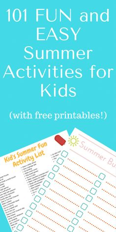 If you're looking for something fun for your child to do this summer, here's a list of 100 fun activities for kids--most of them are simple and require little to no cost! Summer Fun For Kids, Summer Activities For Kids, Cool Kids, Frugal Family, Family Kids, 100 Fun, Child, Kitchen Recipes, Fun Ideas