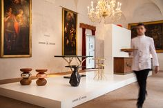 "Munna and Ginger & Jagger presented new designs at Salone del Mobile and a themed exhibition ""Love between Craft and Design"" at Palazzo Durini #munnadesign #milandesignweek #isaloni #milan #isaloni #palazzo #design #exhibition"