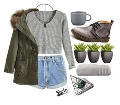 """""""SheIn"""" by credentovideos ❤ liked on Polyvore featuring One Teaspoon, Crate and Barrel, Christy, CB2 and WithChic"""