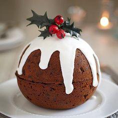 Christmas Pudding Cake - from Lakeland