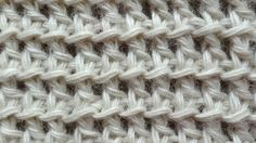 The Tunisian Ocean Stitch Tunisian Crochet Stitch 12 Right Handed, related videos and comments Tunisian Crochet Patterns, Crochet Motifs, Crochet Yarn, Crochet Hooks, Knitting Patterns, Crochet Videos, Knitting Stitches, Crochet Projects, Stitch Patterns