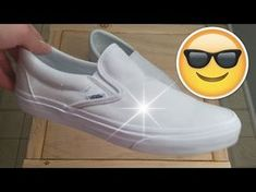 How to clean white shoes with baking soda   Vans   Converse   Adidas Superstars   Nike - YouTube
