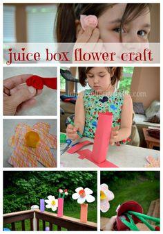 Juice Box Flower Crafts #ultimateplaydate #shop