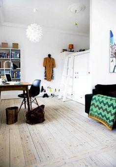 Love this small danish apartment!
