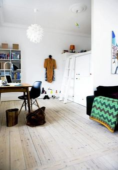 Love this small danish apartment!
