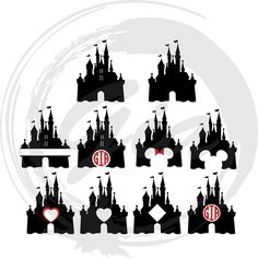 Disney Castle Monogram Frame SVG – Ready to Cut files This is not a vinyl, the file contains only digital files, and no material items will be shipped.   This is a digital download of a vinyl decal cutting file that works perfectly in • Silhouette Studio v2 & v3 (with or without Designer Edition)* • Cricut Design Space • Make the Cut! • Sure Cuts A Lot • Adobe Illustrator • and plenty of other programs  Included: 1 zipped folder containing this image in SVG, PNG, EPS, and DFX format. 1 se...