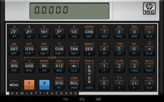 The official HP 15C emulator app. For nostalgic types who are old enough to know. This was one of the best HP calculators, it represents the end of an era.