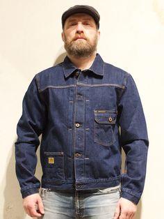 Indigofera Grant Jacket Ashbury Heavy Rinse - Indigofera - Denim Heads - Only The Best