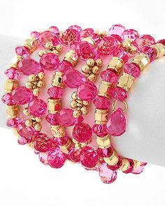 Pretty In Pink #pink #jewelry #style