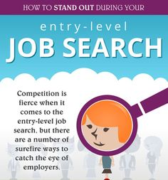 Stand Out in Your Entry-Level Job Search Interview Coaching, Job Interview Tips, Job Interview Questions, Career Search, Job Search Tips, Career Development, Professional Development, Career Advice, Career Opportunities