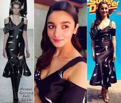 Alia Bhatt Prabal Gurung | #Bollywood #Fashion #Celebrities