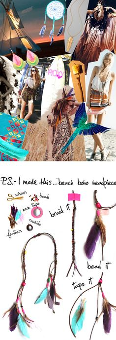 Summer Solstice is upon us and it's time to get down with BBQ's, Braids, and all things Beachy & Boho! I love to sport summer acce...