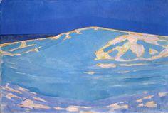 Piet Mondrian (1872-1944), Dunes Close to Domburg, 1910, oil on canvas, Gemeentemuseum Den Haag.
