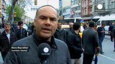 Manifestación en Turquía en favor de los Hermanos Musulmanes condenados a muerte en Egipto