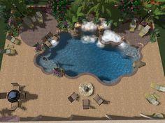 3d pool design | pool design and pool ideas