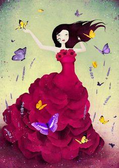 Não importa os lugares que eu vá, sempre jogarei sementes de flores pelo caminho. Além de embelezar o mundo estarei chamando as borboletas....