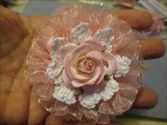 Flores de una cinta de nylon. maestro de vídeo - clase. Debate sobre LiveInternet - Servicio Ruso diario en línea