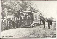 First Tram Moonee Ponds by mvlslibrary, via Flickr