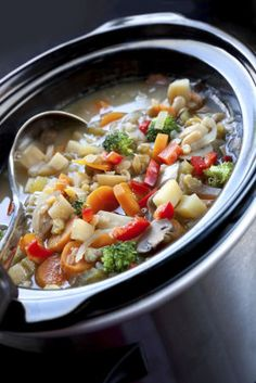 Rock the crock: Warm up with these slow-cooked soup recipes