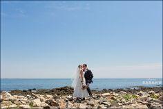 Seacoast Science Center Rye New Hampshire Wedding Photographer Ocean Photo // I AM SARAH V Photography
