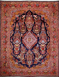 "Mashad Persian Rug - 9' 10"" x 12' 6"""