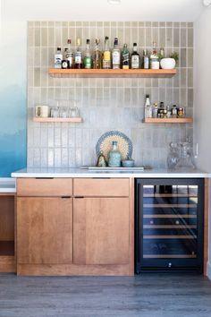 p/cabinets-tile-the-tile-on-the-bar-is-cle-tiles-glazed-brick-tweed - The world's most private search engine Brick Tiles Kitchen, Brick Tile Backsplash, Decor Interior Design, Interior Decorating, Layout Design, Design Ideas, Bar Tile, Glazed Brick, American Kitchen