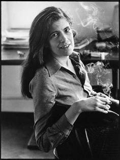 """Intelligence is really a kind of taste: Taste in ideas."" --Susan Sontag. photo by Annie Leibovitz"