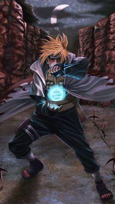 Minato, creator of the Rasengan - Naruto Shippuden Naruto Shippuden Sasuke, Naruto Kakashi, Anime Naruto, Manga Anime, Wallpaper Naruto Shippuden, Naruto Wallpaper, Gaara, Naruto Sage, Super Anime