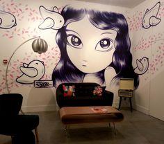 Lyon, galerie clemouchka, By Jordane Jone Graffiti Characters, Lyon, Street Art, Anime, Cartoon Movies, Anime Music, Animation, Anime Shows