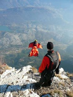 Own a Wing suit.. Go Base Jumping ALL the time