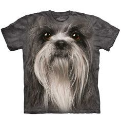 Shih Tzu Face Tee Adult, $12, now featured on Fab.