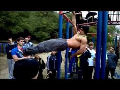 Street Workout Odessa incredible strength