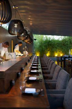 SACCA sushi counter #restaurantdesign