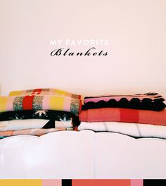 my favorite blankets for fall / sfgirlbybay.