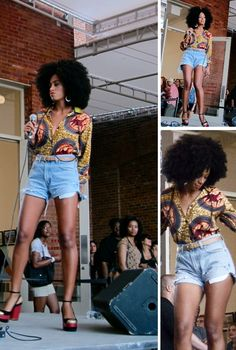 I think I'm going to rock a fro this summer. Enjoy!