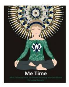 Me Time: Adult Coloring Book 50 Stress Relieving Mandala Motifs Coloring Book Art, Coloring Sheets, Adult Coloring, Printable Coloring Pages, Art Therapy, How To Relieve Stress, Book Review, No Time For Me, Disney Characters