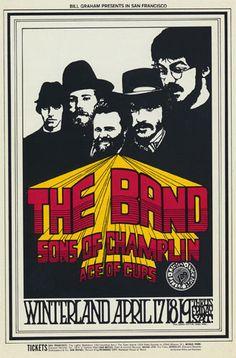 The Band - Winterland (San Francisco, CA) Apr 17, 1969.