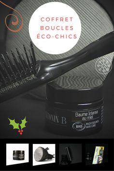 Ce coffret beauté de Noël contient notre Baume Intense au Miel ainsi qu'une brosse antistatique et un diffuseur en maille de titane qui respectent la texture et les mouvements naturels des cheveux.